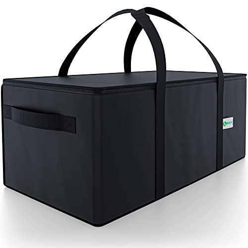Commercial Insulated Food Delivery Bag - 22' x 10' x 10' Waterproof Delivery Bag for Hot Food Delivery - Premium Food Warmer Bag for Uber Eats and Doordash Food Delivery