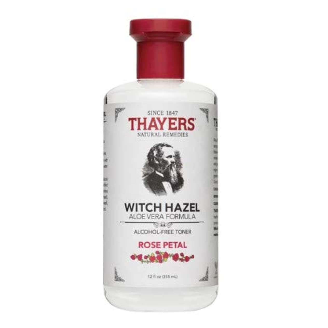 邪悪な科学的ピットThayers Rose Petal Witch Hazel with Aloe Vera?–?12オンス