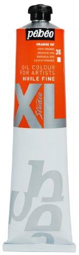 Pébéo XL - Pintura al óleo (200 ml), color naranja