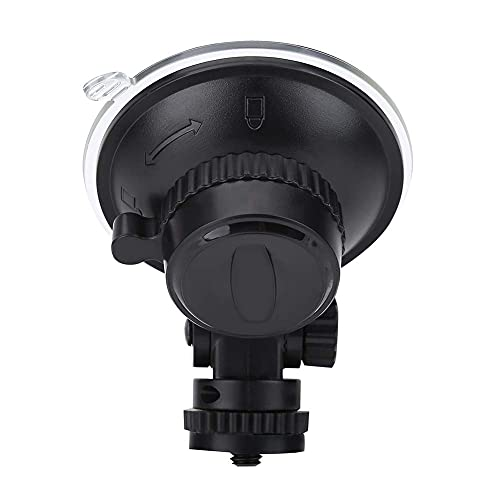 Ventosa per Gopro, plastica resistente per auto con attacco a ventosa, accessorio per camera d'azione con vite standard da 1/4 ', per SJCAM/per Xiaomi/per Soocoo