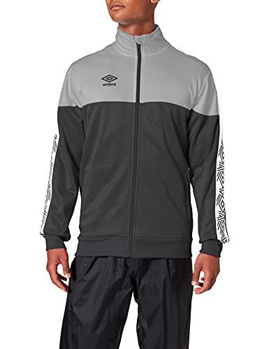 Umbro Nyassa Training Jacket – Giacca da Allenamento da Uomo, Uomo, 22007I, Nero , XL