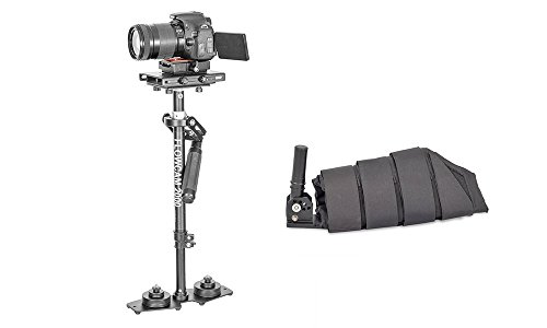 Flowcam 2000Handheld Camera Stabilizzatore con avambraccio supporto per fotocamere con un peso fino a 2,7kg (6lbs)