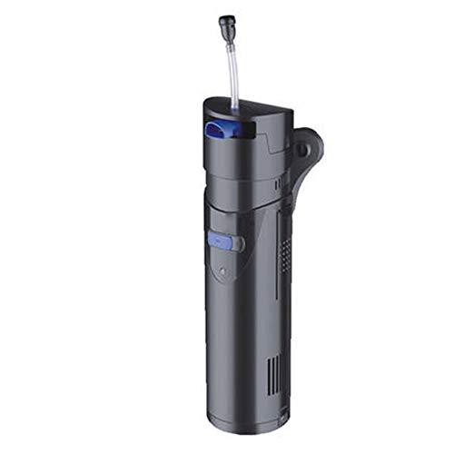 XBTECH filterinstallatie voor wandmontage, high-performance slang, externe container, waterfilter, filtercontainer voor aquarium, zeer stil