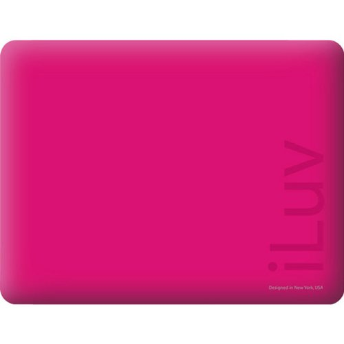 iLuv Silicone Case for iPad - Pink (ICC801PK)