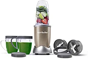 Nutribullet Pro 900 Watts, 12 Piece Set, Multi-Function High Speed Blender, Mixer System with Nutrient Extractor,...