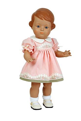 Schildkröt Puppe Inge Klassik Kollektion 46 cm groß braunes Haar Blaue Augen, 8646832