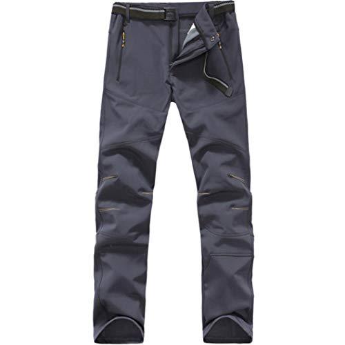 Générique Pantalon Tactique pour Hommes Poche LatéRale en Polaire Soft-Shell Protection Contre Les Radiations Chasse Escalade Camping Pantalon D'ExtéRieur