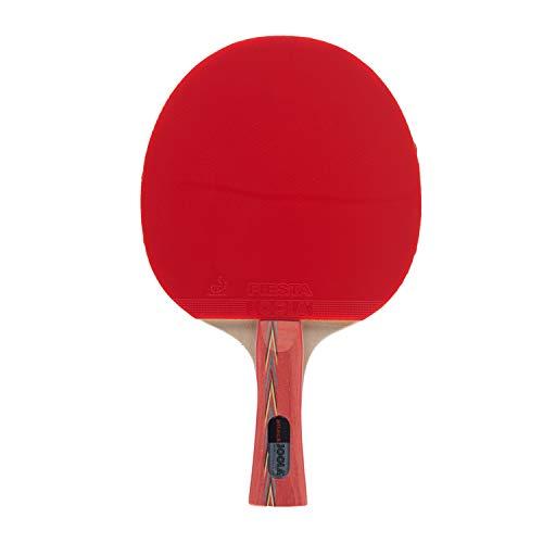 Joola Tischtennisschläger ROSSKOPF ATTACK Tischtennis-Schläger ITTF Zulassung für Fortgeschrittene Spieler-5fach verleimtes Spezialsperrholz, 1,8 MM Schwamm
