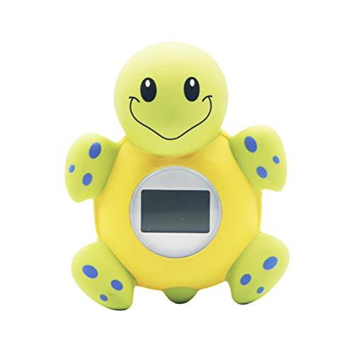 MAICOLA Termómetro para baño de bebé, lectura rápida y precisa de agua con alarma de advertencia LED, juguetes de baño para niños