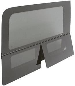 OEM Design All-Glass Look Sprinter Van Dual-Vent Drivers Side Rear Quarter Panel Window for 170 Wheel Base Van CRL FW623L 2007