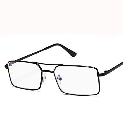 UKKD Gafas De Sol Mujeres Diseñador Gafas De Sol Mujer Gafas De Sol Plaza Mujeres Gafas Góticas E345-Black Clear