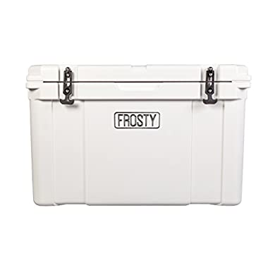 Frosty 85 Roto Molded Cooler - Sizes 25 35 45 55 65 75 120 Ice Chest Rotomolded Extreme Durability Premium Cooler Holds Ice for Days 85 quarts