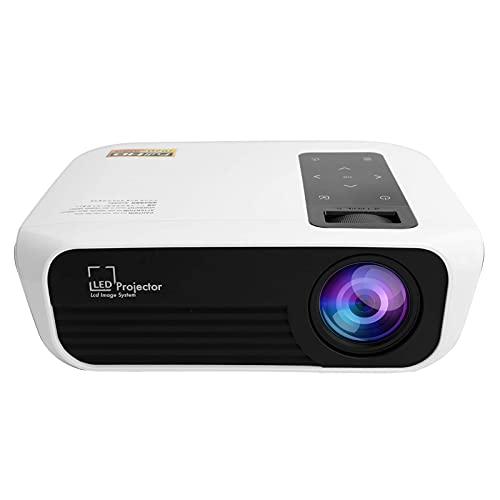 OHHG Caja Pantalla Mini proyector, Mini proyector, 7. Proyector películas Inteligente, Proyector Video portátil Compatible Pantalla 200', Proyector LED Full HD 1920 X1080P Compatible HDMI, IR, USB
