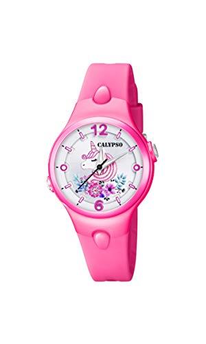 Calypso Reloj Analógico con Cuarzo y Correa en Goma K5783/6