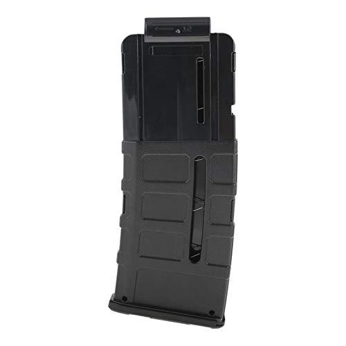 Blasterparts - gebogenes Ersatzmagazin für 12 Darts (SMG 12 Darts-Clip) - schwarz - NERF kompatibel