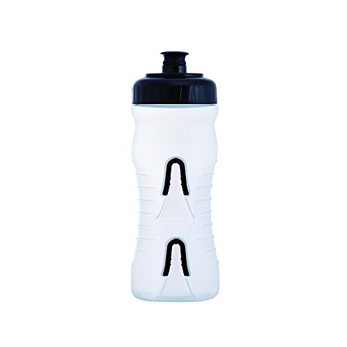 Fabric Cageless Bottle 600Ml Clear/Black