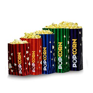 Buy Discount Beach City Wholesalers 130 oz Popcorn Bags | holds 4 oz of popcorn (500 count)