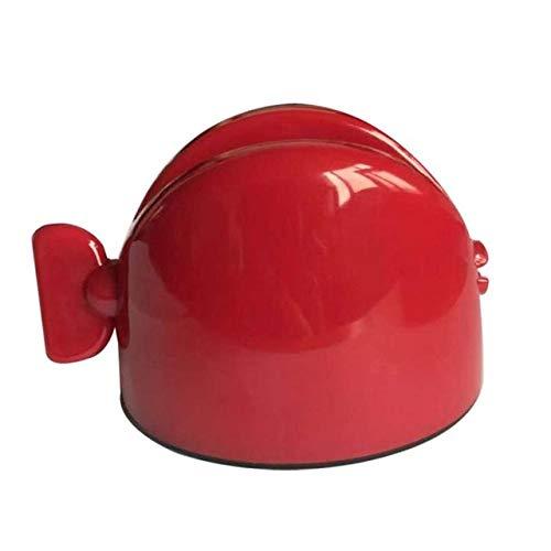 RAQ multifunctionele tandpasta Squeezer Squeezer tandpasta eenvoudige draagbare plastic dispenser badkameraccessoires sets Russische opvoer rood