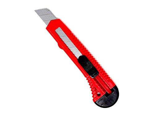 60 Stück SBS Cuttermesser, Teppichmesser +60Stück 18mm Abbrechklingen