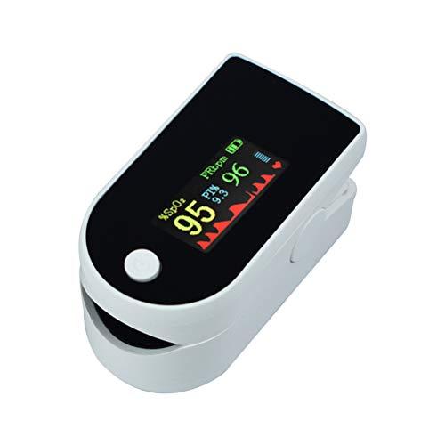 BST&BAO Pulsioxímetro, pulsioxímetro Digital con Pantalla LED, pulsómetro para el hogar y el Deporte, medidor de saturación de oxígeno