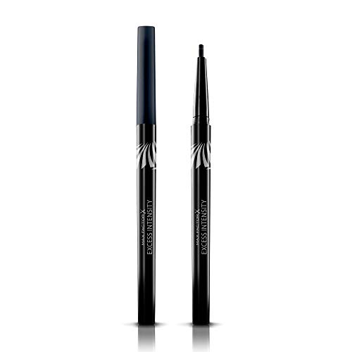 Max Factor, Matita Occhi Automatica Excess Intensity Longwear, Eyeliner Waterproof Tratto Preciso, 04 Charcoal, 2 g