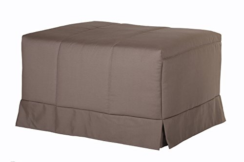 Quality Mobles - Cama Plegable Individual de 80x190 cm Funda Color visón