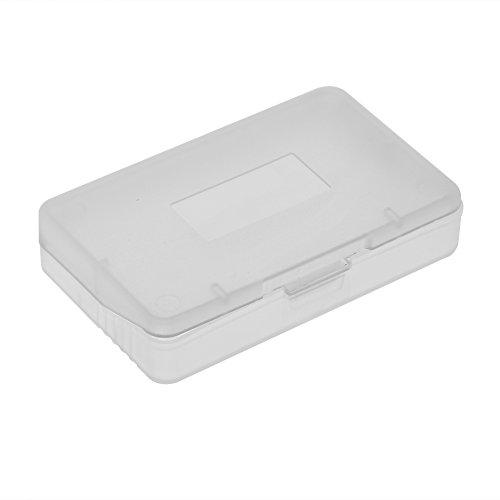 10 unids transparente cubierta de polvo del juego de la caja del juego de la caja del juego del cartucho para Nintendo Game Boy Advance GBA