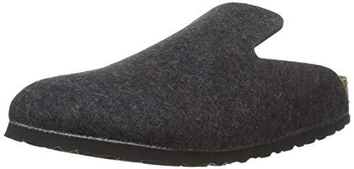 Birkenstock Unisex-Erwachsene Davos Pantoffeln, Grau (Anthracite), 40 EU