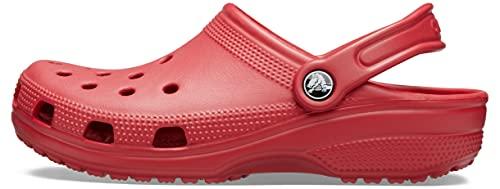 Crocs Classic Clog, Unisex – Adulto, Rosso (Pepper), 41/42 EU