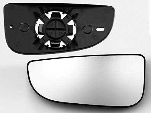 APA Replacement Towing Mirror Lower Glass with Base for 2009-2020 RAM 1500 2500 3500 4500 5500 Driver Left Side 68067731AA CH1324125