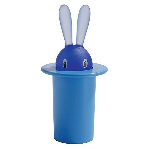 【正規輸入品】 ALESSI アレッシィ Magic Bunny マジックバニー 爪楊枝入れ / ブルー ASG16 AZ