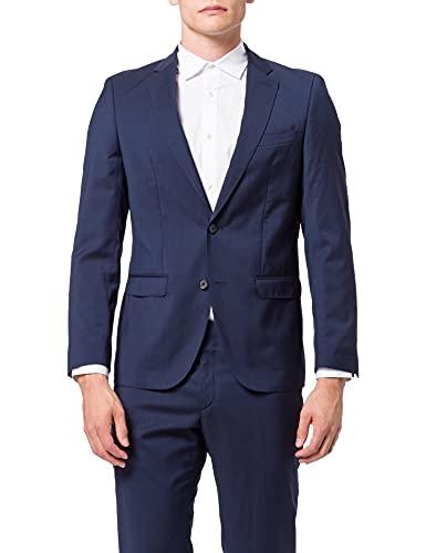 bugatti Herren 684000-99801 Anzug, Blau (Blau 44), 56