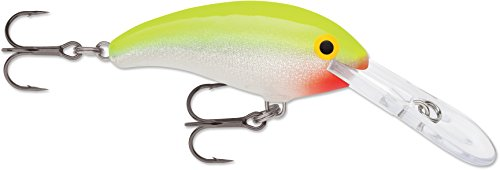Rapala SDD05SFC: Shad Dancer 05 Silver Chartreuse...