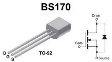 diypedalgearparts® 20x bs170Mosfet Transistor, Stomp Box, Pedal Effect, DIY
