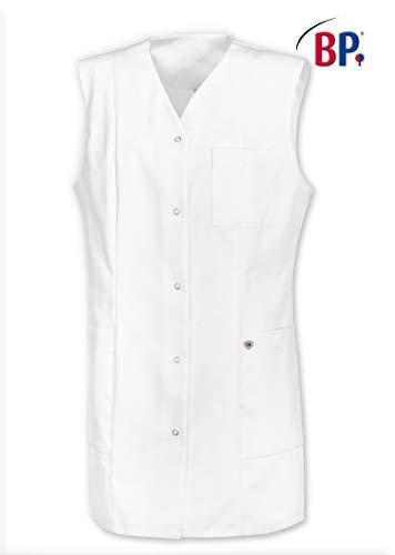 BP 1510-400-21-XL Uniformjacke, Ärmellos, V-Ausschnitt, 215,00 g/m² Stoffmischung, weiß ,XL