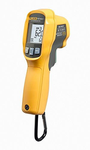 Fluke 62 Max Plus IR Thermometer, Non Contact, -20 to +1202 Degree F Range - 62 Max+