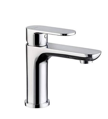 NEWFORM, Miscelatore Extro monocommande per lavabo cromato senza scarico