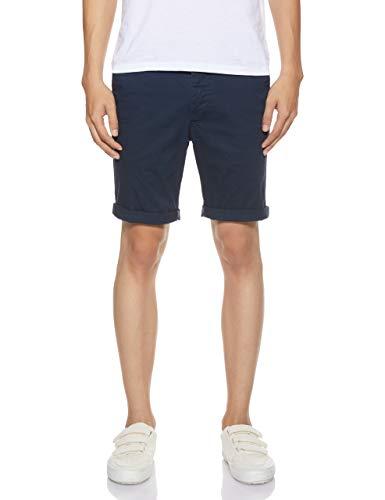 JACK & JONES Herren JJIENZO Chino WW 01 STS Shorts, Blau (Black Iris), W(Herstellergröße:M)