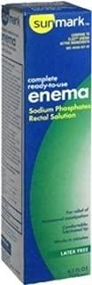 Sunmark Enema Saline Laxative 4.5 Oz. - (6 Pack)