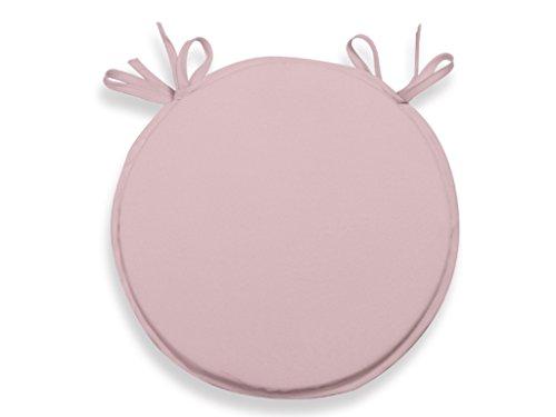 Soleil d'ocre 009235 Bistro-Stuhlauflage 40 cm ALIX rosa