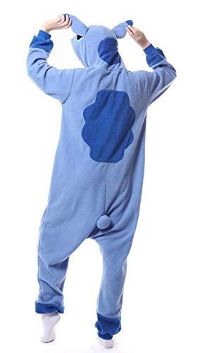 Unisex Adultos de Dibujos Animados con Capucha Enterizo de Cosplay Pijamas Ropa de Dormir