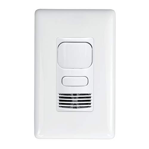 Hubbell Lighting LHMTS1-N-WH LightHAWK Wall Switch Sensor, White