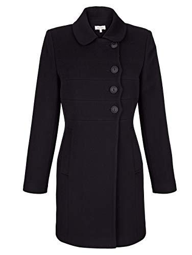 Alba Moda Jacke in modischer Form Schwarz