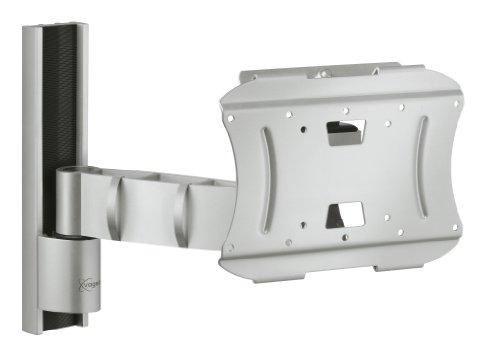 Vogel's VFW 332 TV-Wandhalterung für 57-94 cm (23-37 Zoll) fernseher, drehbar und neigbar, max. 35 kg, Vesa max. 200 x 200, silber
