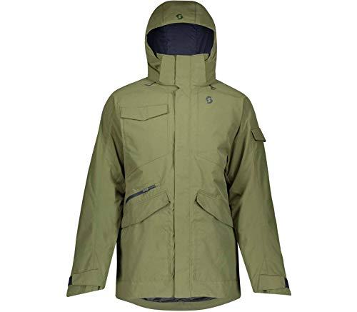 Scott M Ultimate Dryo Jacket Grün, Herren Thinsulate™ Regenjacke, Größe XL - Farbe Green Moss