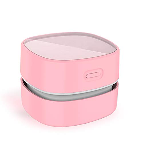 ODISTAR Desktop Vacuum Cleaner,Mini Table dust Sweeper Energy Saving,High Endurance up to 400 mins,Cordless&360º...