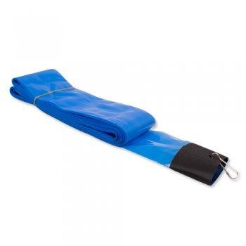 CIM Drachen Zubehör – Schlauchschwanz PE Blue – für Lenkdrachen – Länge: 12m – inkl. Clip zur Befestigung