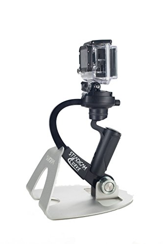 Steadicam Curve-BK Handheld Video Stabilizer and Grip for GoPro Hero Cameras 3, 4 Black & Hero...