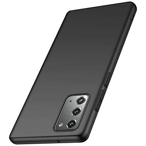 Kqimi Hülle für Samsung Galaxy Note 20, Superdünne Leichte Matte Handyhülle Einfache Stoßfeste Kratzfeste Ganzkörper Hülle kompatibel mit Samsung Galaxy Note20 5G (6.7