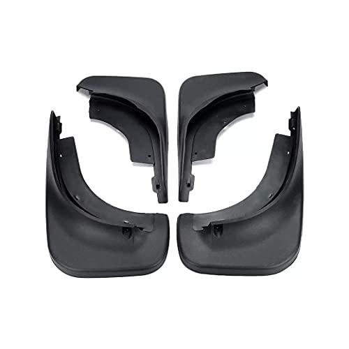 Faldillas Antibarro Compatible con VW/Touareg Mk1 2008-2010, Guardabarros para Coche, Guardabarros de Goma Delantero Y Trasero, Guardabarros de Rueda de Coche Duradero